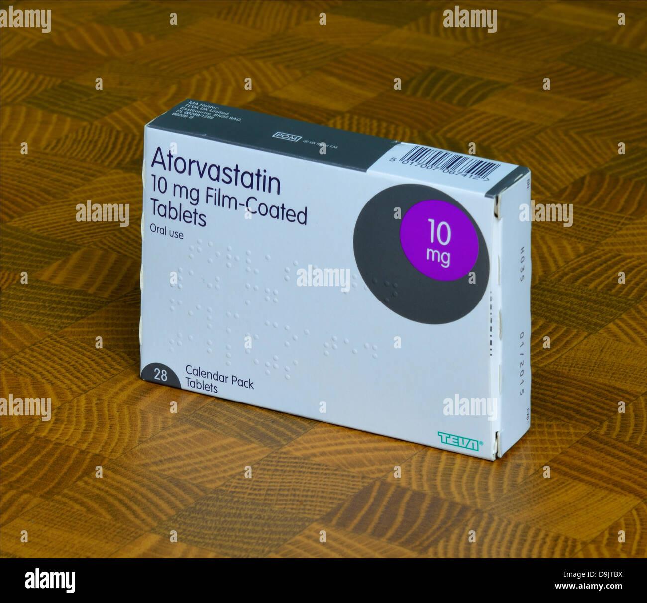 Atorvastatin 10 mg tabletten.doc - Atorvastatin 10mg Film Coated Tablets Pack 28 Calendar Pack Tablets Oral Use