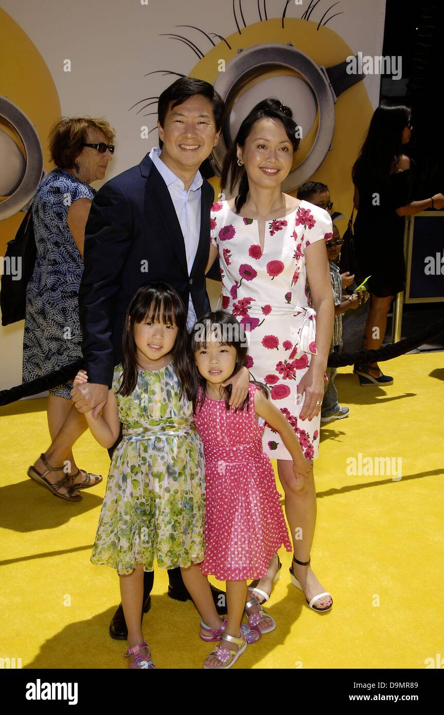 Los Angeles, CA, US. 22 June 2013. Ken Jeong, Tran Jeong ...