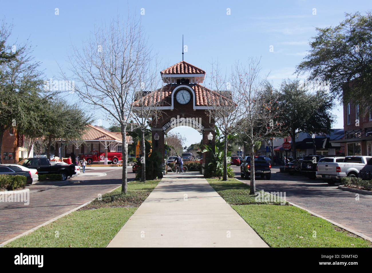 downtown winter park florida united stock photos u0026 downtown winter