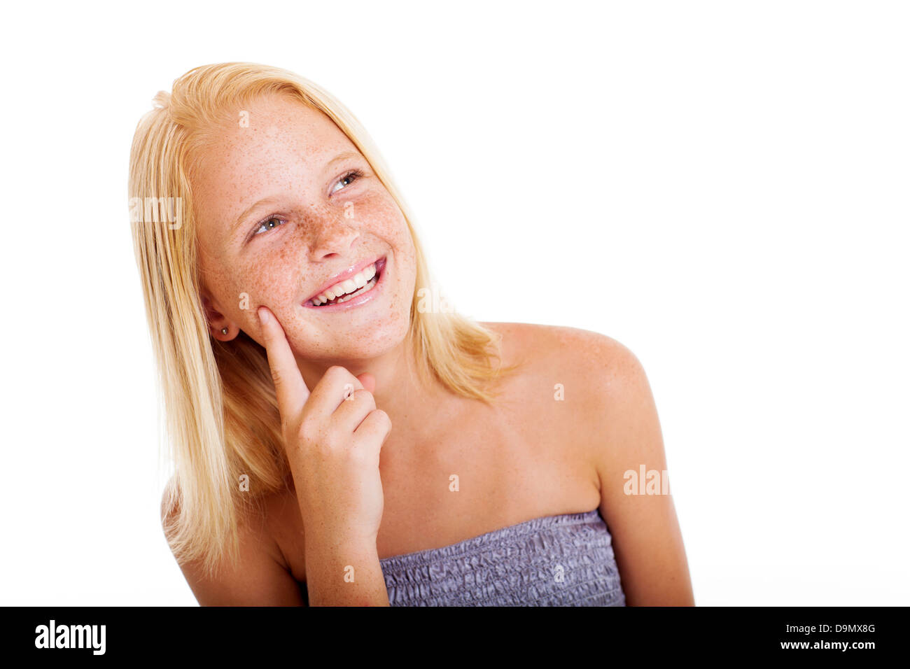 For Cute freckled teen girl very