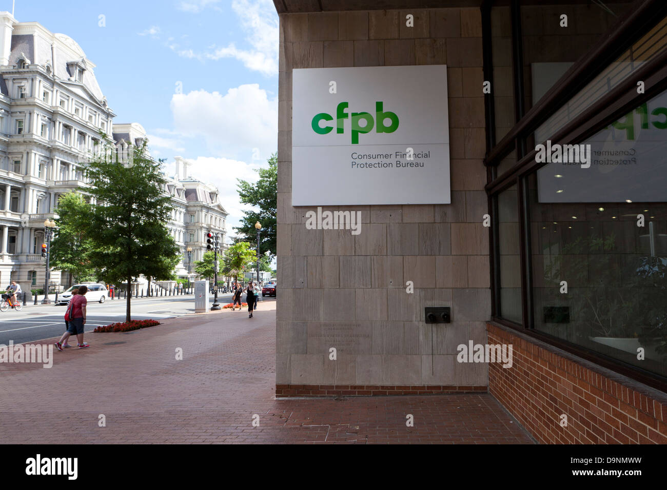 consumer financial protection bureau headquarters building stock photo royalty free image. Black Bedroom Furniture Sets. Home Design Ideas