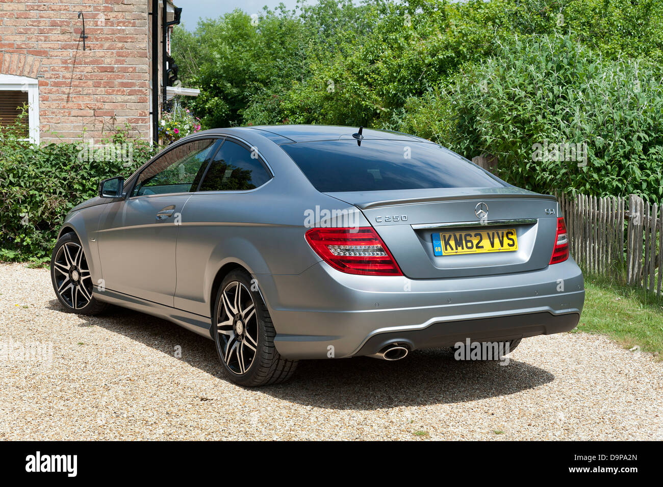 2013 mercedes benz c250 cdi coupe amg sport stock photo royalty free image 57653869 alamy. Black Bedroom Furniture Sets. Home Design Ideas