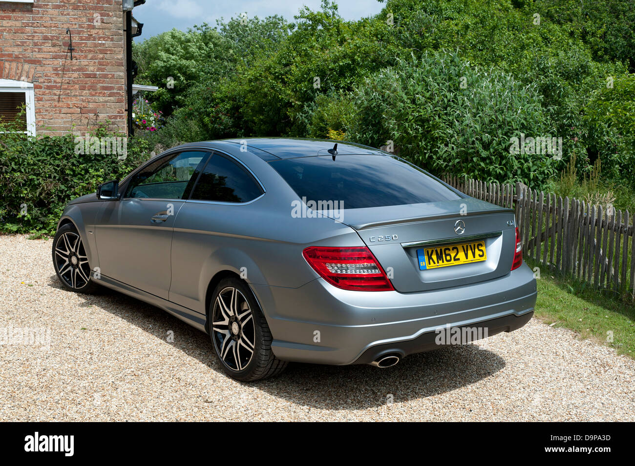 2013 mercedes benz c250 cdi coupe amg sport stock photo royalty free image 57653889 alamy. Black Bedroom Furniture Sets. Home Design Ideas