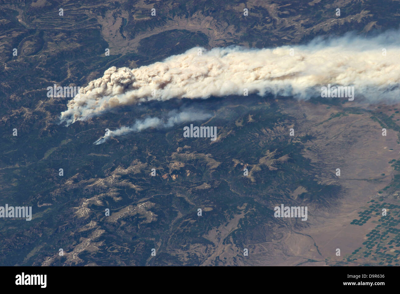 Fire View From Space Station - Pics about space