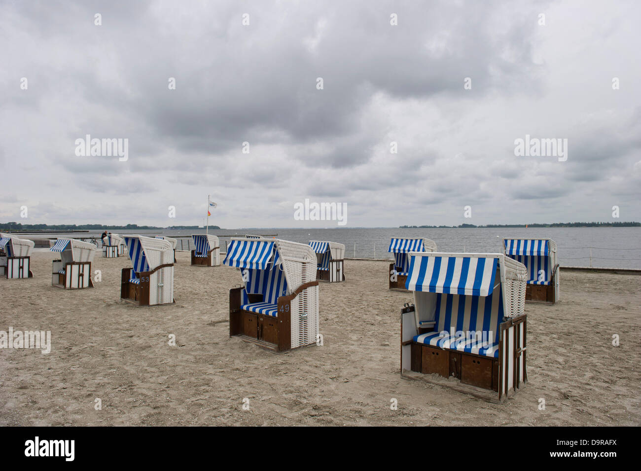 Best beach chair 2013 - Empty Beach Chairs Are Pictured On The Beach In Stralsund Germany 25 June 2013 Photo Stefan Sauer