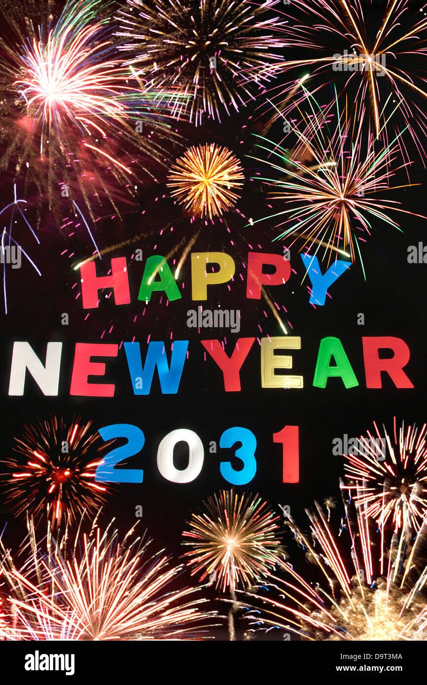 HAPPY NEW YEAR 2031 Stock Photo: 57692778 - Alamy