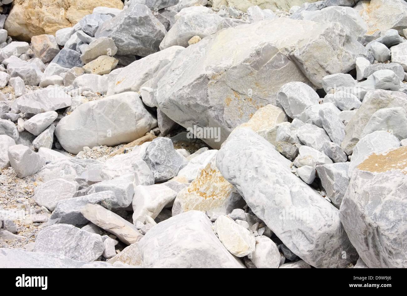 Carrara Marmor carrara marmor steinbruch carrara marble pit 27 stock photo