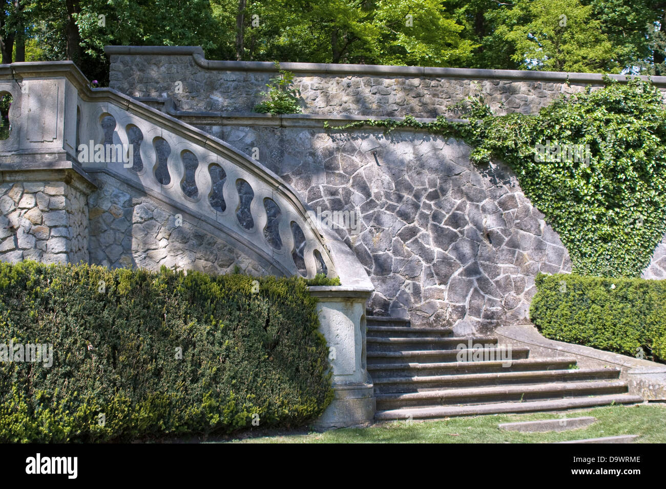 Garden Stairs Stock Photos Garden Stairs Stock Images Alamy