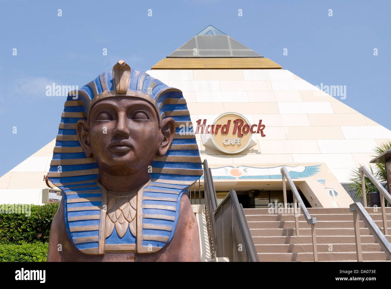 Hard Rock Caf Located At Broadway At The Beach In Myrtle Beach South Stock Photo Royalty Free