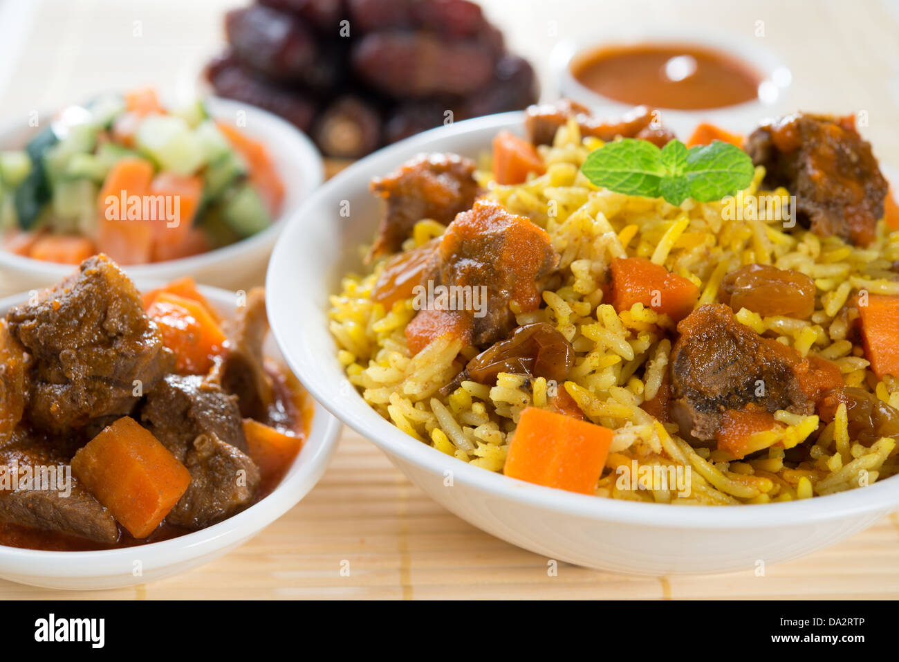 arab rice ramadan food in middle east usually served with