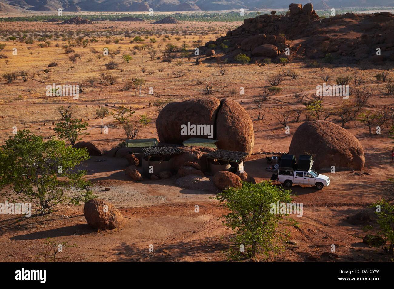 Campsite At Mowani Mountain Camp Near Twyfelfontein