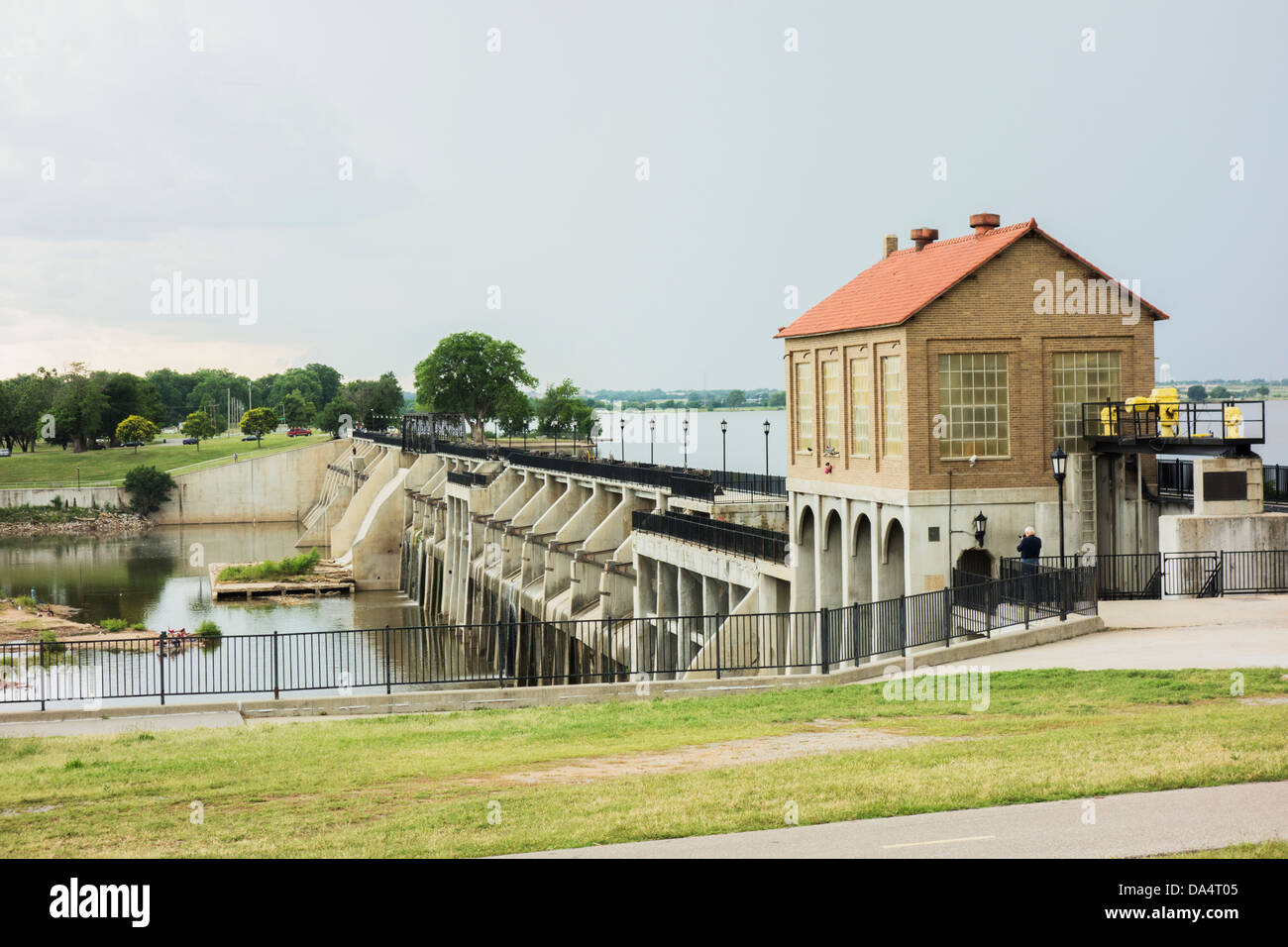 Lake overholser dam in oklahoma city built in 1917 and 1918 to lake overholser dam in oklahoma city built in 1917 and 1918 to impound water from the north canadian river sciox Image collections