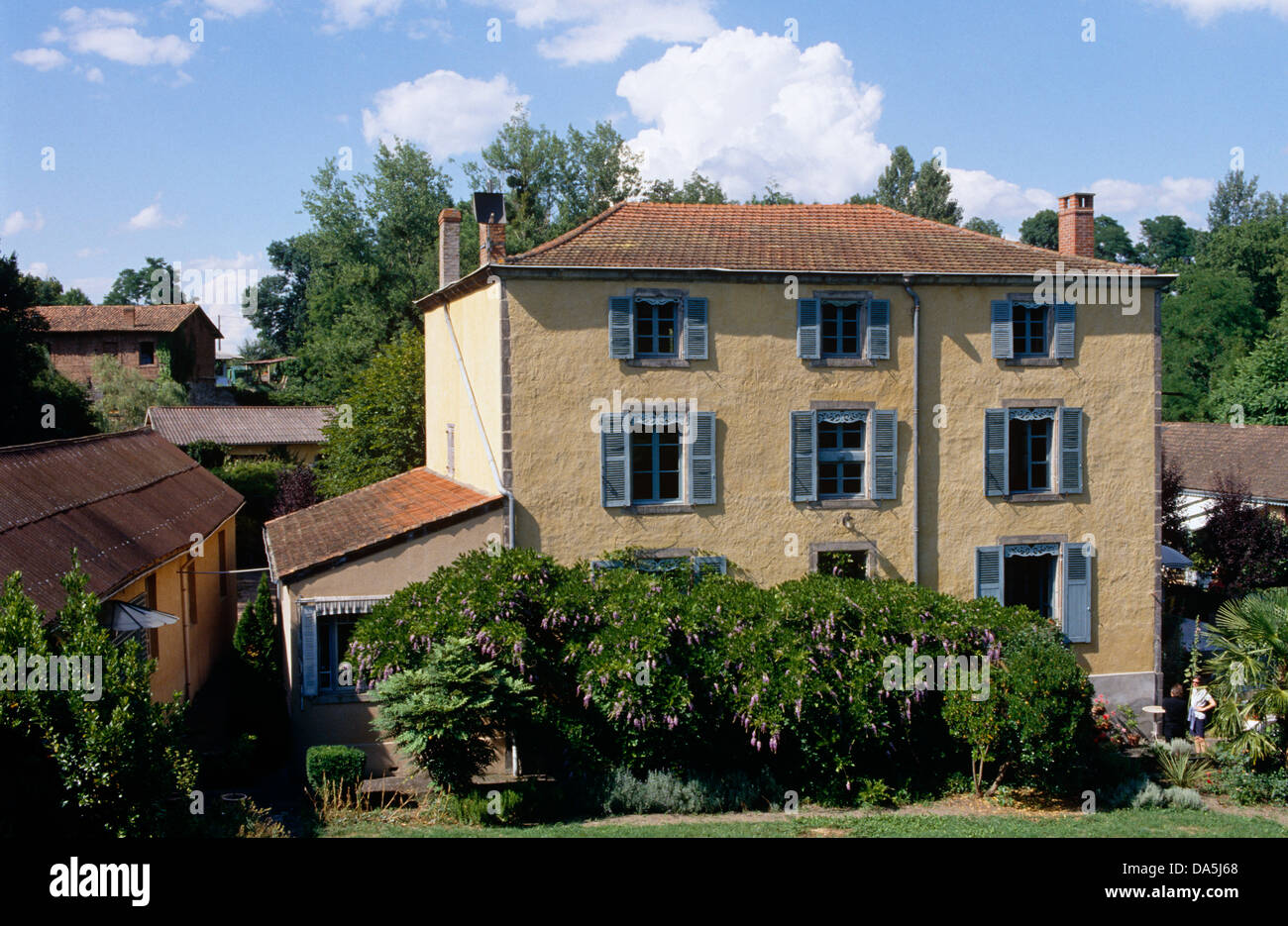 French Country House Stock Photos  French Country House Stock - French country house