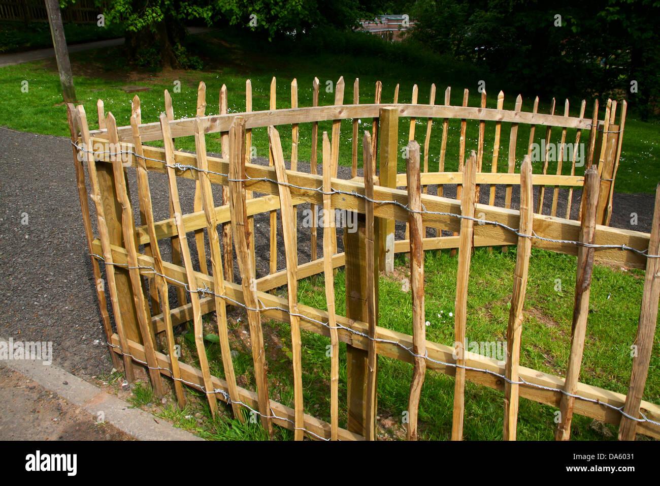 Split hazel wood and wire palisade fence stock photo royalty free split hazel wood and wire palisade fence stock photo baanklon Gallery