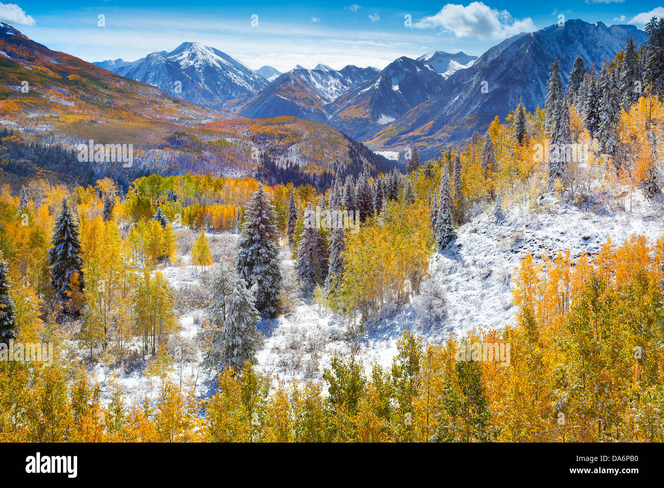 USA United States America Colorado Fall Autumn Trees Fall - Mountains in the united states