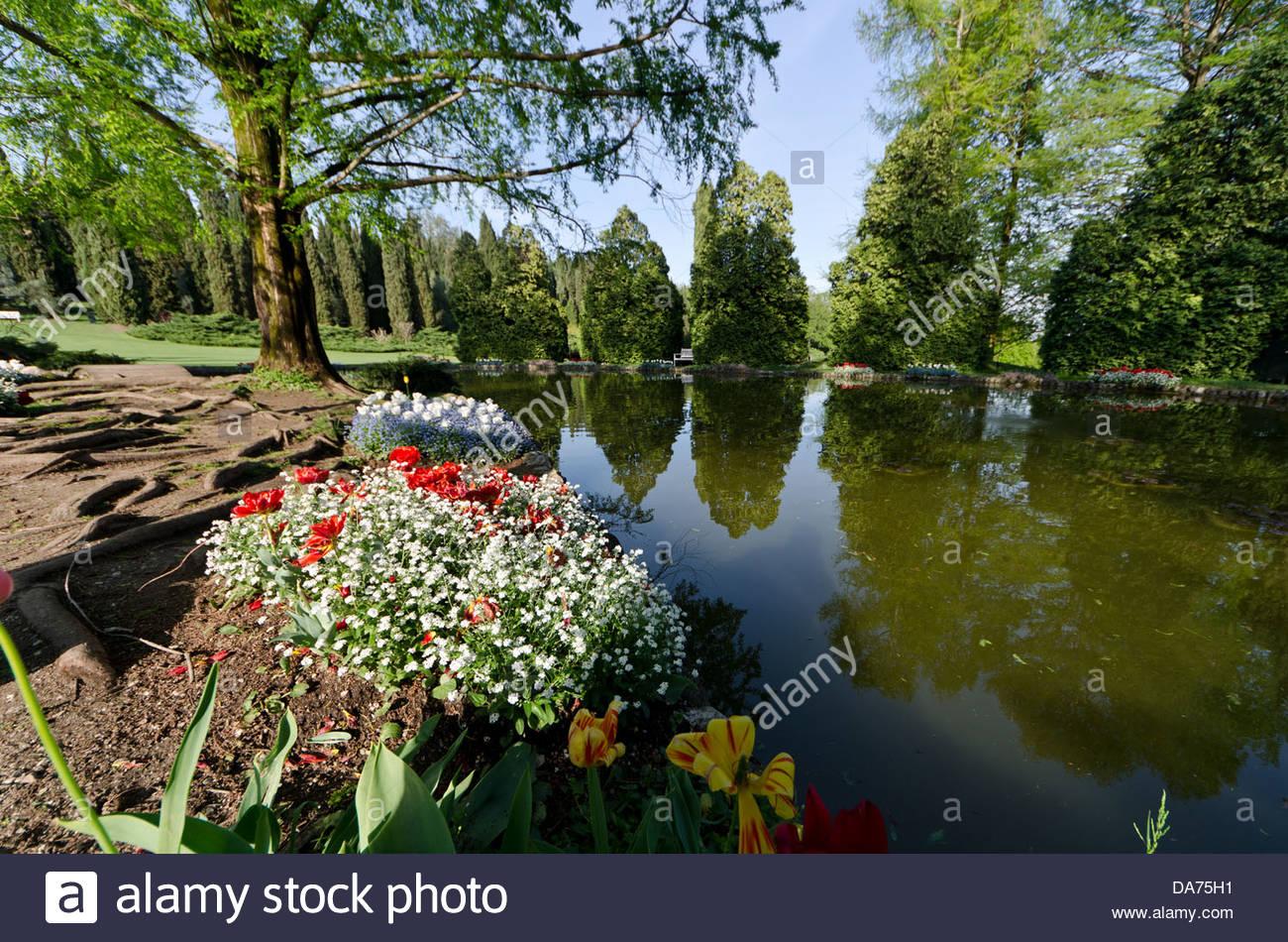 Parco giardino sigurt valeggio sul mincio veneto italy stock photo royalty free image - Parco giardino sigurta valeggio sul mincio vr ...