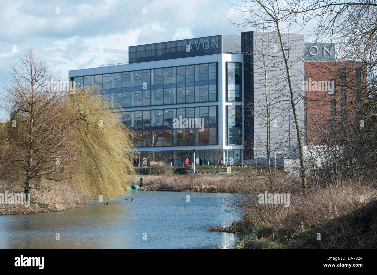 Stock Photo - Avon Cosmetics UK Headquarters, Northampton, England, UK