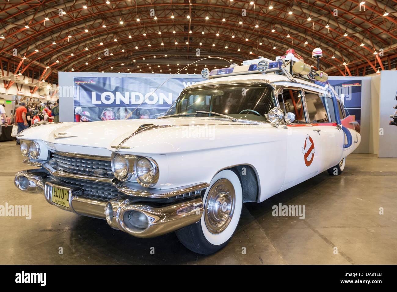 Uk Ghostbuster Car