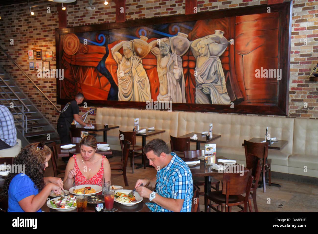 Tampa Florida Ybor City 7th Seventh Avenue Acropolis Greek Taverna