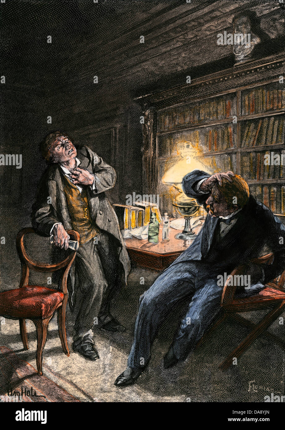 """a literary analysis of the transformation in dr jekyll and mr hyde Stevenson's the strange case of dr jekyll and mr hyde is an ambiguous   internally with good and evil4 the writer made this inner conflict the theme of   macduffie, """"irreversible transformations: robert louis stevenson's dr jekyll and  mr."""