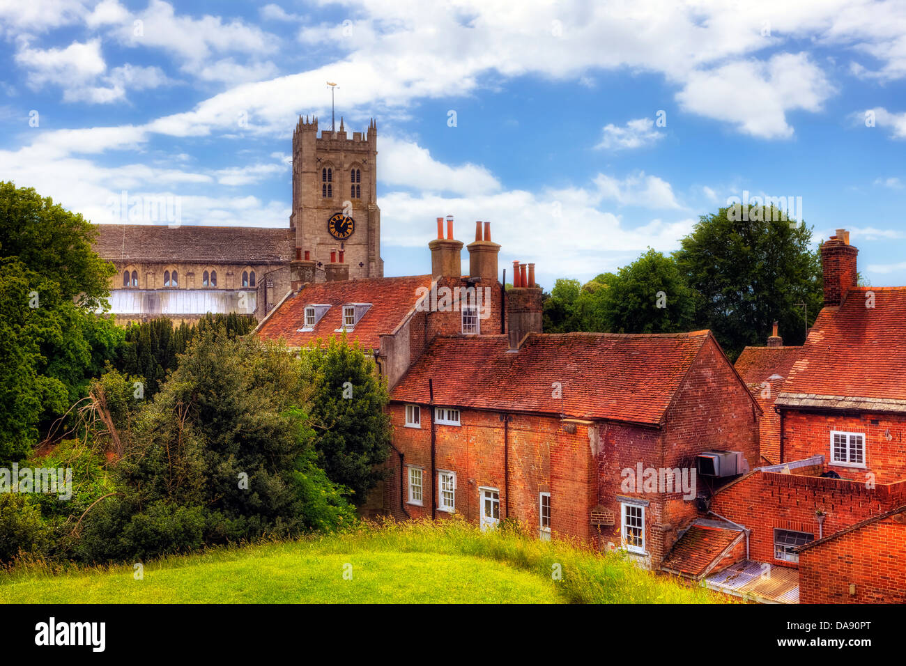 Christchurch United Kingdom  City pictures : Christchurch Priory, Dorset, United Kingdom Stock Photo, Royalty Free ...