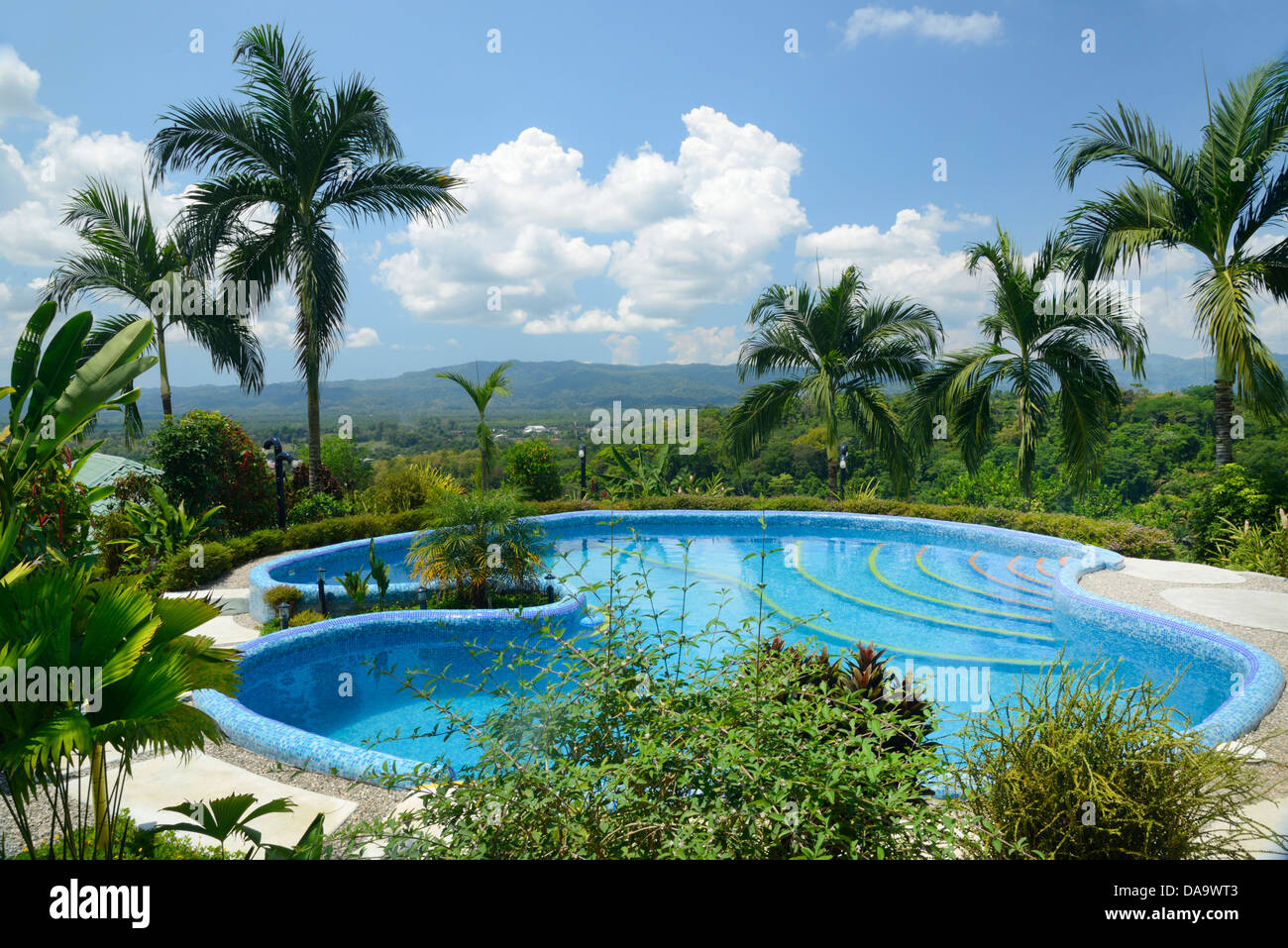 Central america costa rica golfito landscape nature for Pool design costa rica