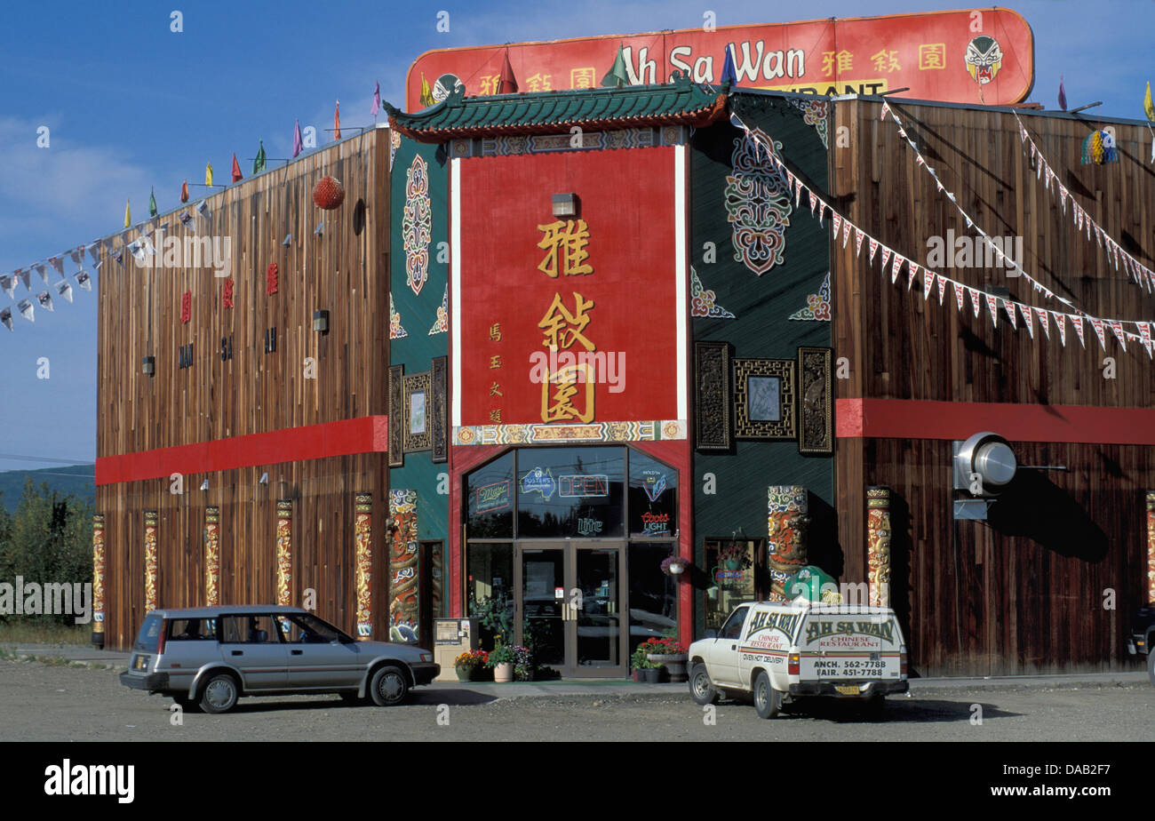 Fairbands alaska usa wood building chinese for Ak decoration building services