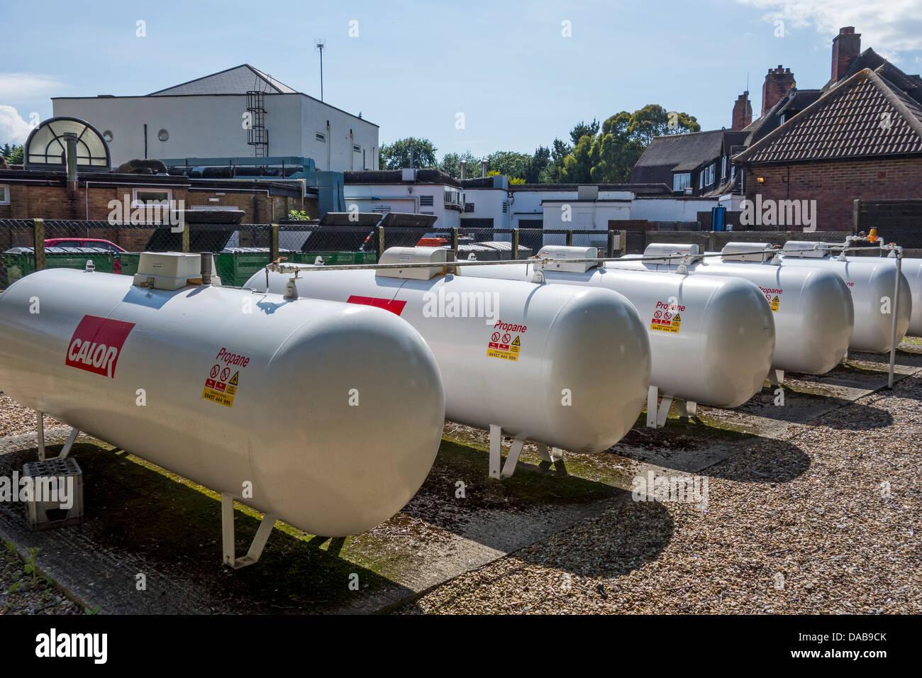 Farmers Gas Tank : Calor gas tank farm installation propane tanks stock photo