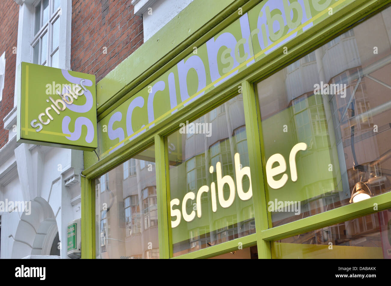 Scribbler greetings cards shop in wardour st soho london uk scribbler greetings cards shop in wardour st soho london uk kristyandbryce Images