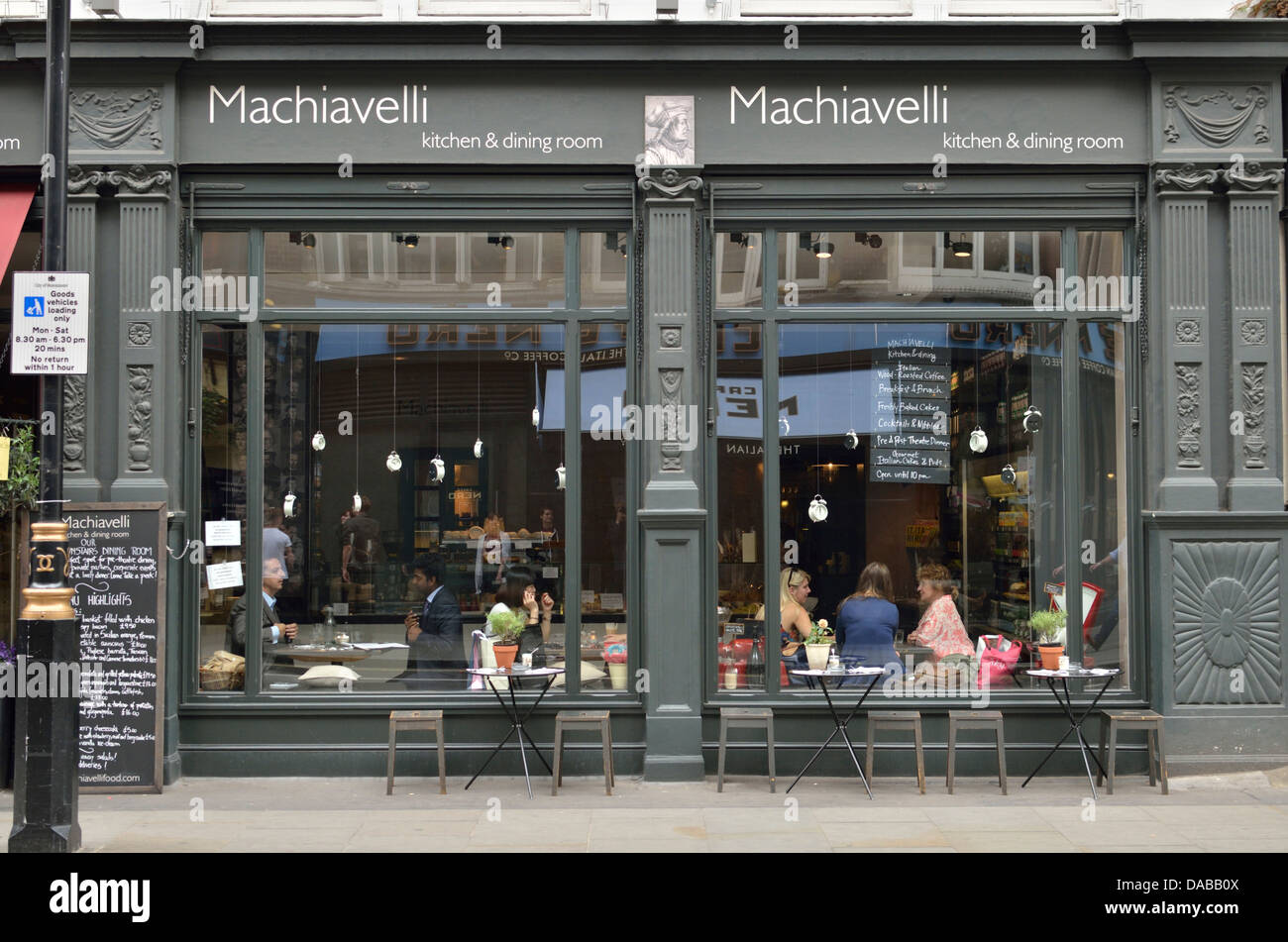 Covent Garden Kitchen Machiavelli Kitchen Dining Room In Long Acre Covent Garden
