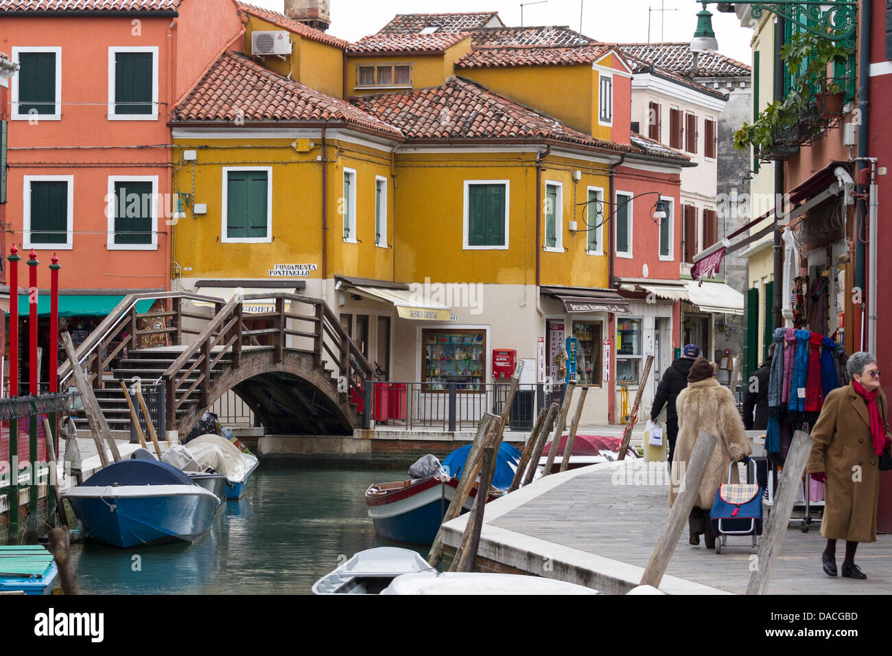 Colorful burano italy burano tourism - Colorful Buildings And Facades Burano Island Venice Italy