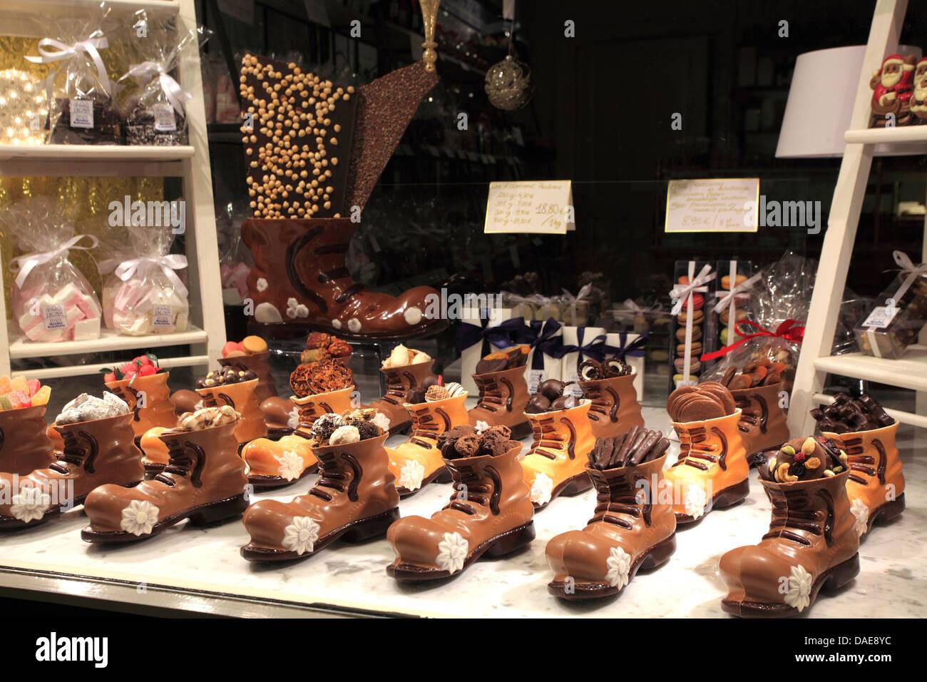 Brugge Chocolate Shop Stock Photos & Brugge Chocolate Shop Stock ...