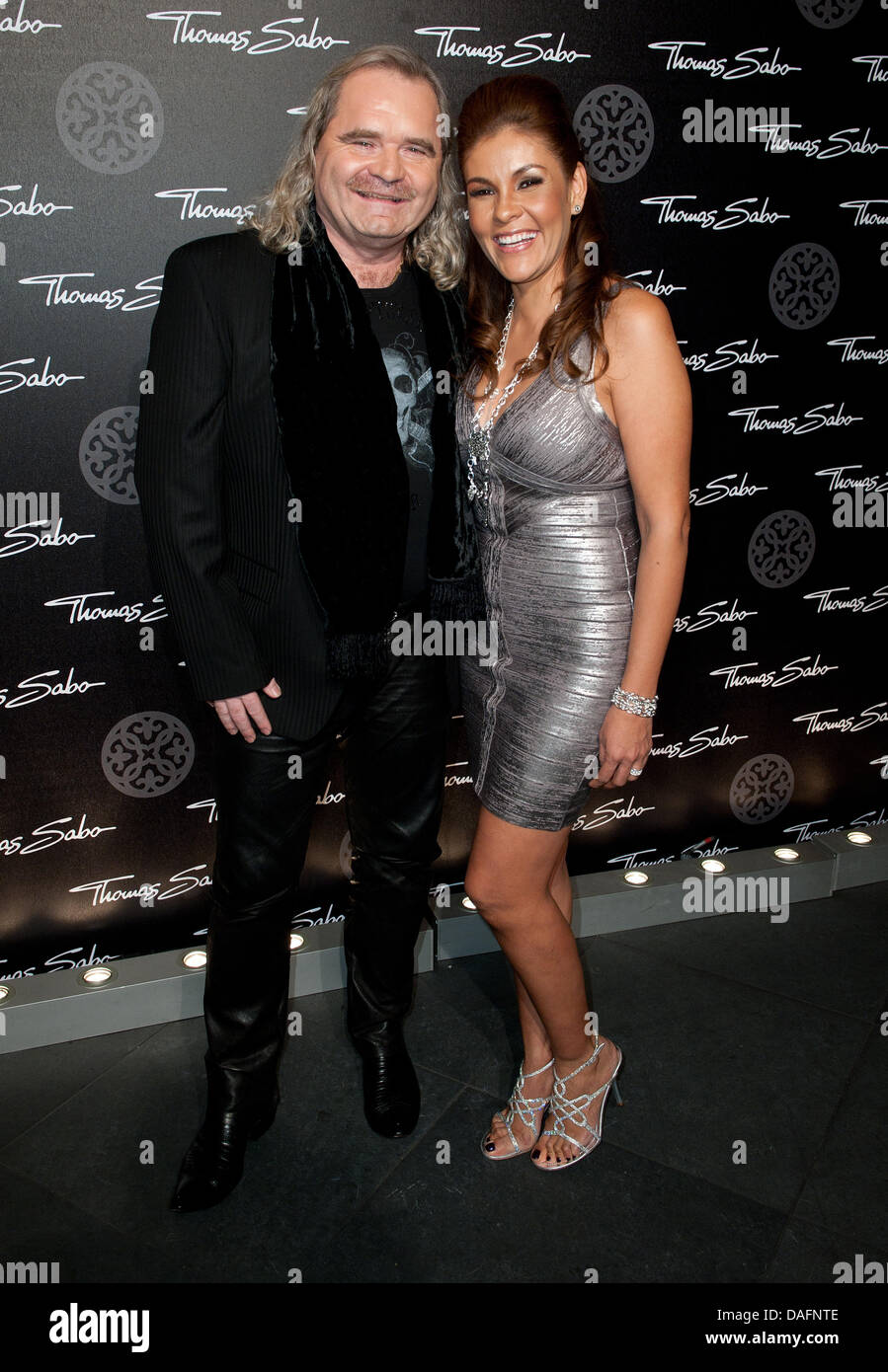 wife german formula stock photos wife german formula stock german jewelery designer thomas sabo and his wife luz enith sabo attend the launch of