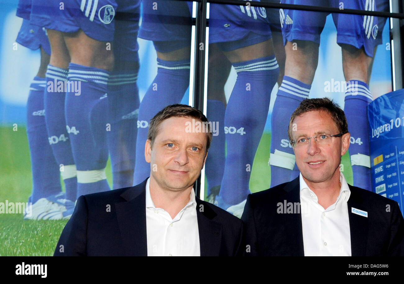 Heldt Hamburg german bundesliga fc schalke 04 s sporting director horst stock