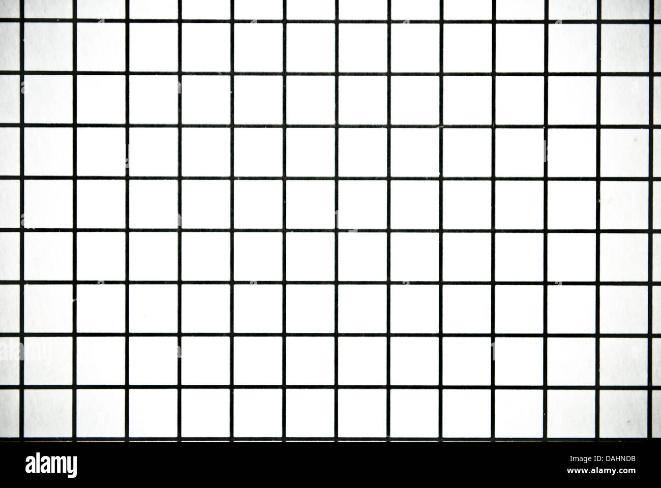 Black and white square checked paper background or texture ...