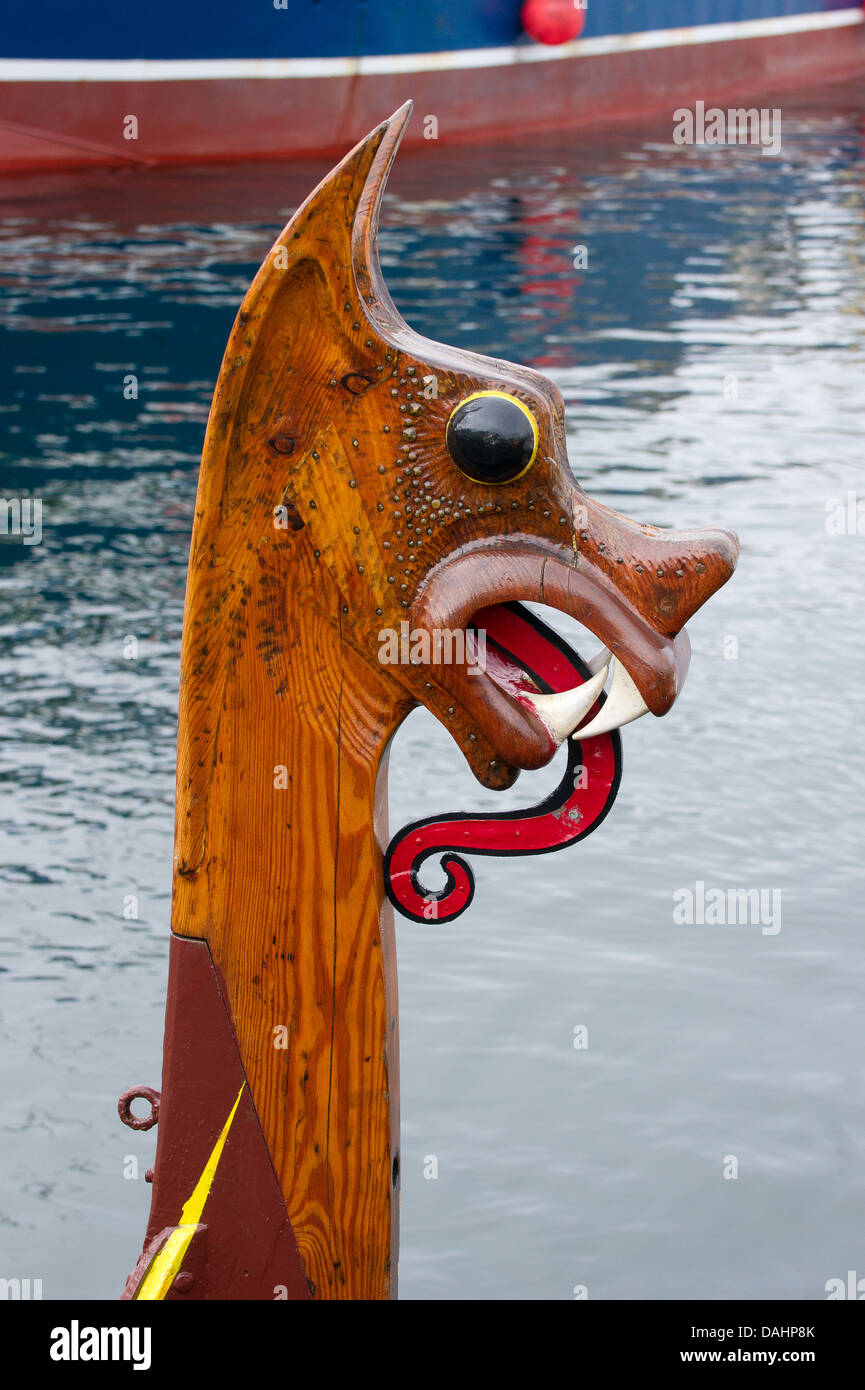 viking head dragon stock photos u0026 viking head dragon stock images