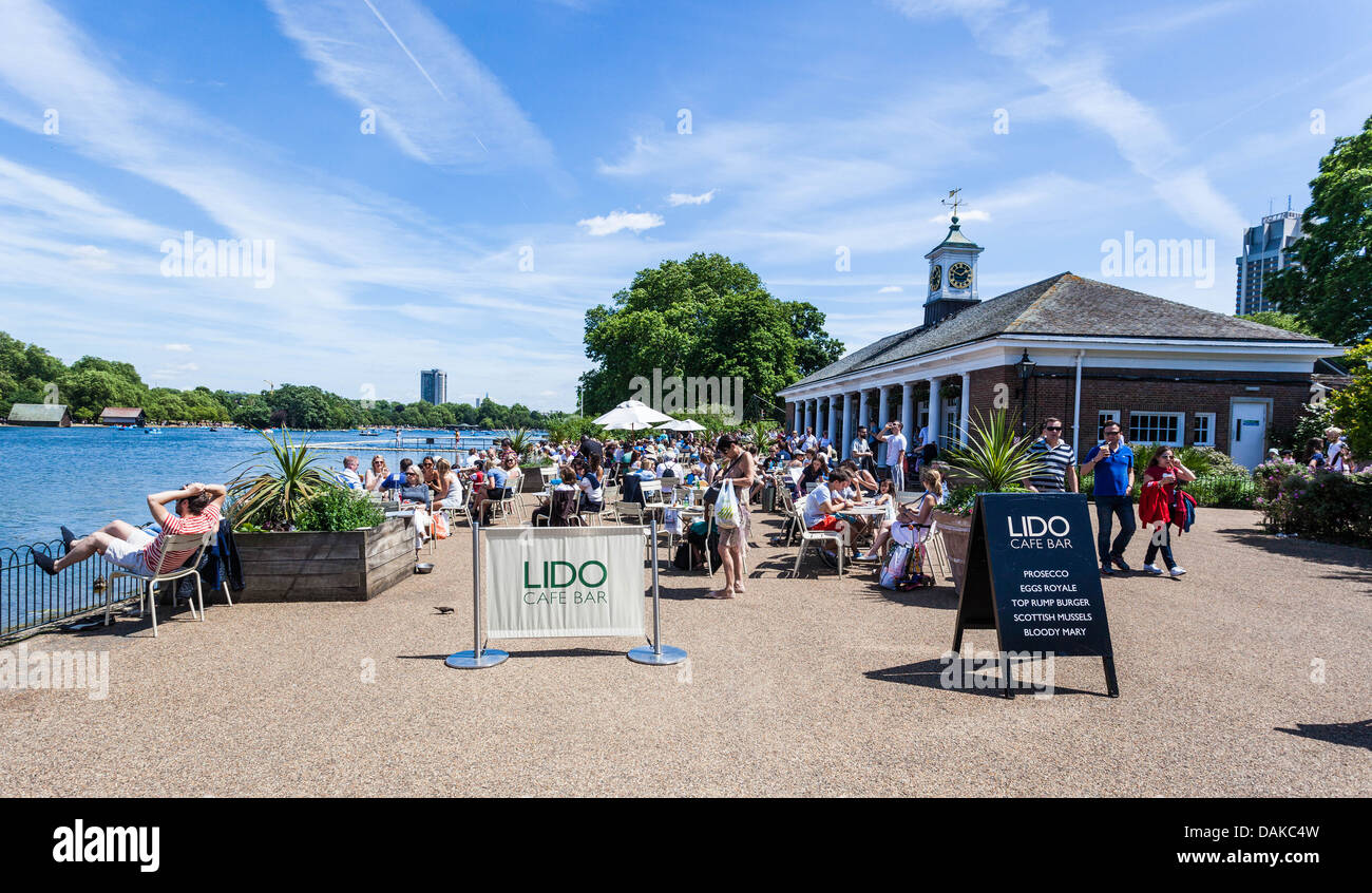Lido Cafe Brockwell Park London