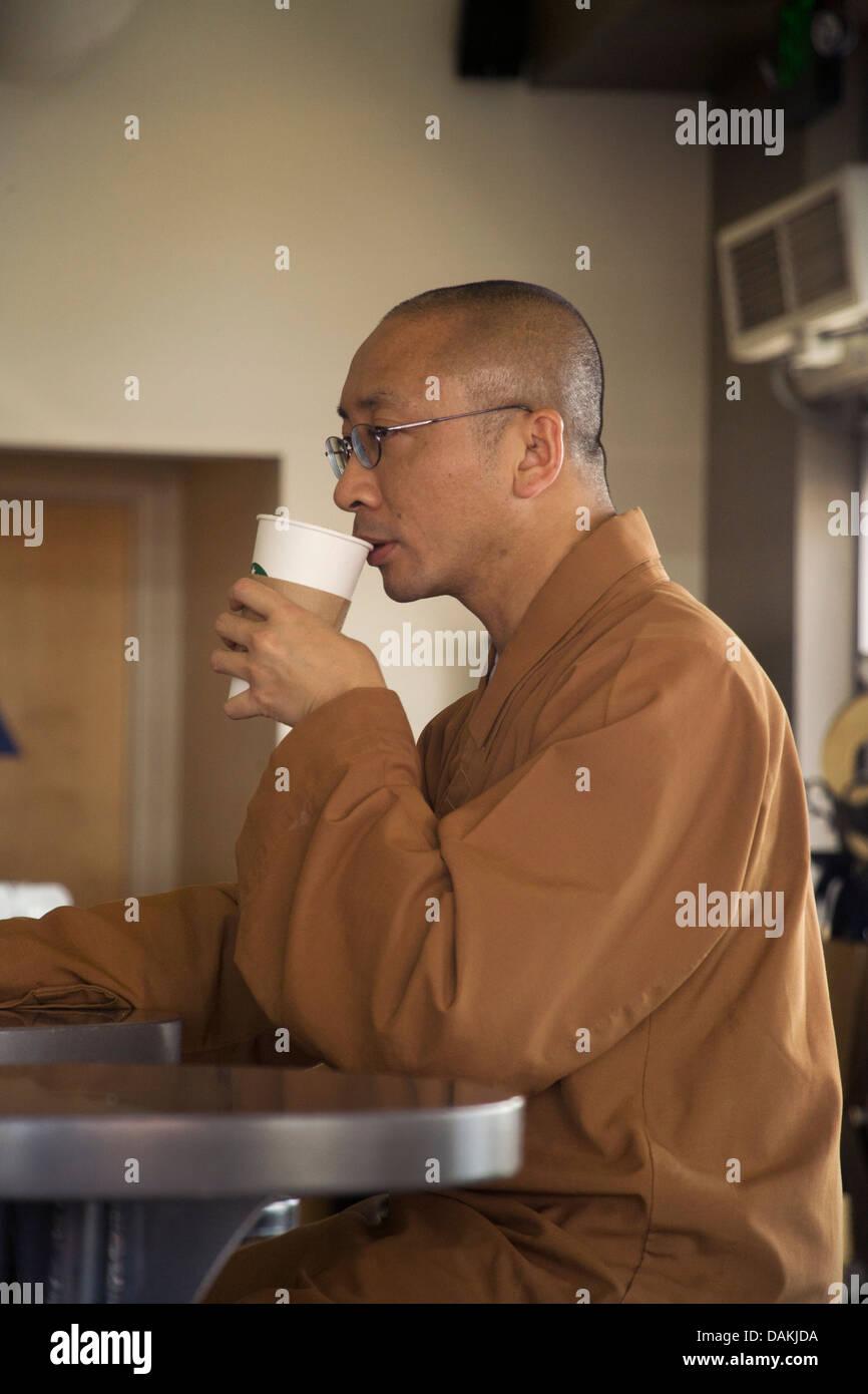 Buddhism shaved head