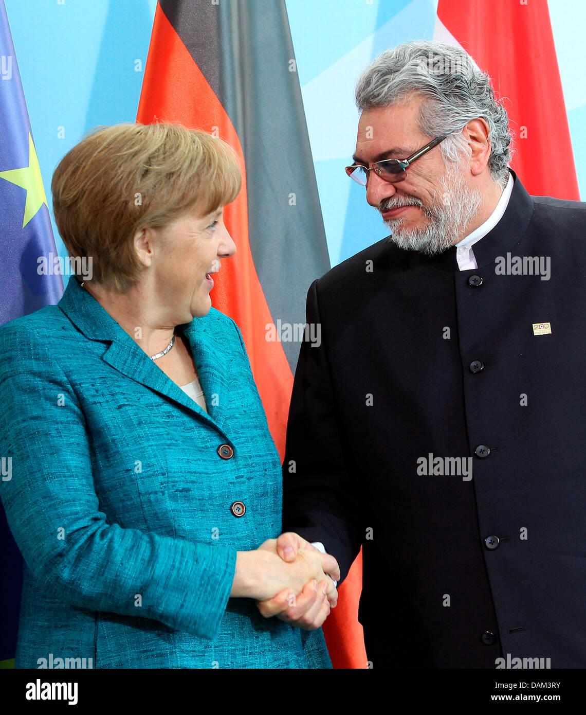 Merkel Paraguay