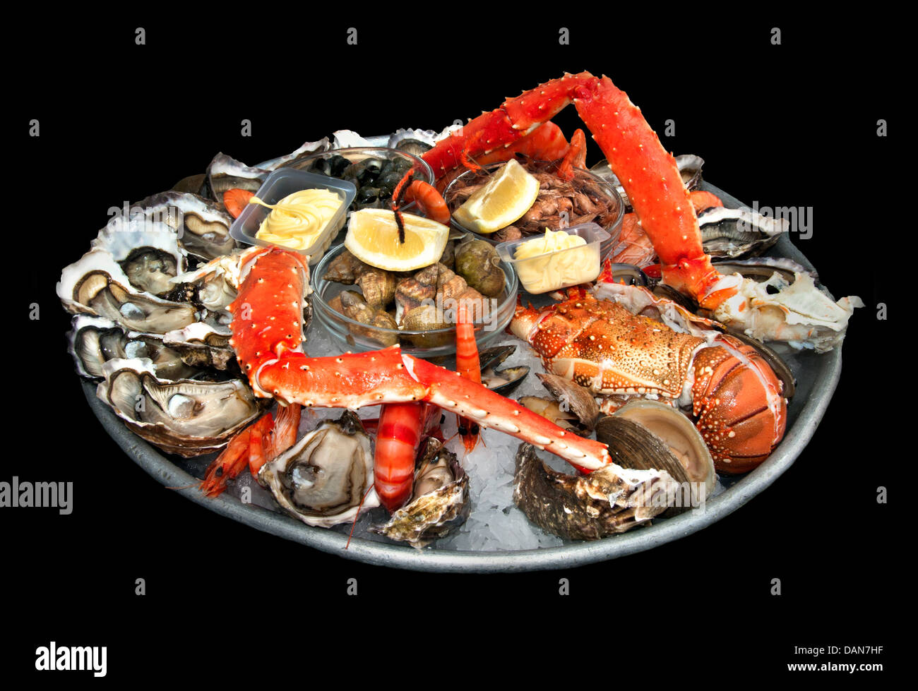 fruits de mer french seafood oysters shrimp lobster periwinkle