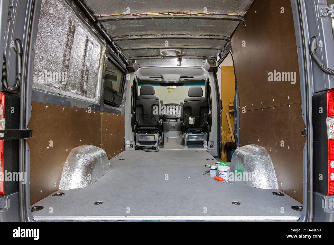 Custom camper mercedes benz sprinter cargo van 2500 stock for Mercedes benz sprinter camper