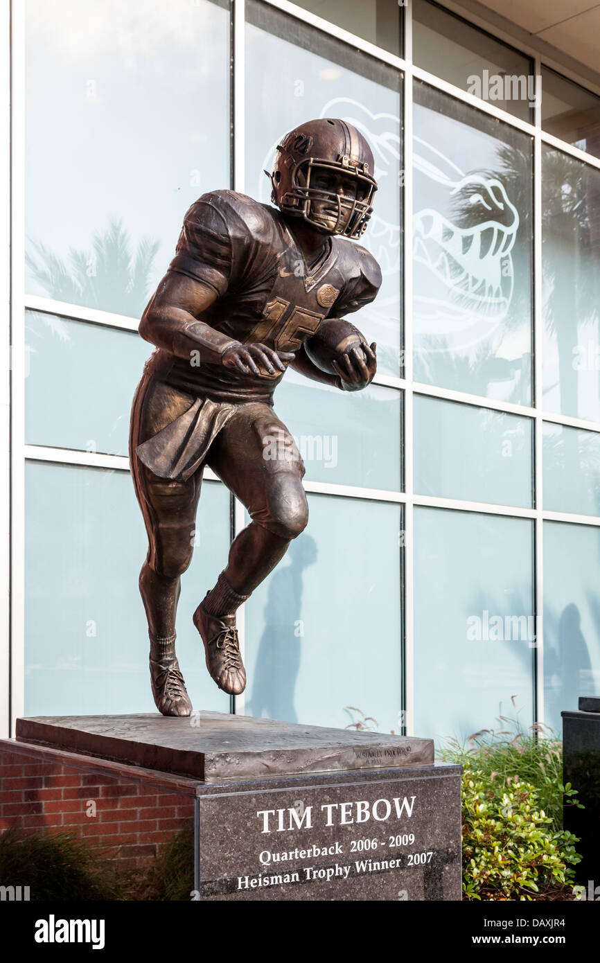 tim griffin stock photos tim griffin stock images alamy bronze statue of tim tebow heisman trophy winner stands in front of the ben