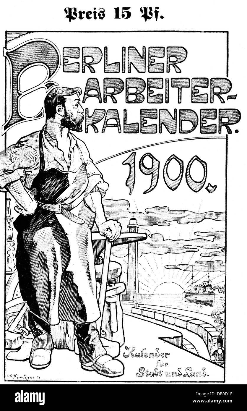 calendar berlin worker s calendar title page design by calendar berlin worker s calendar 1900 title page design by krueger workers