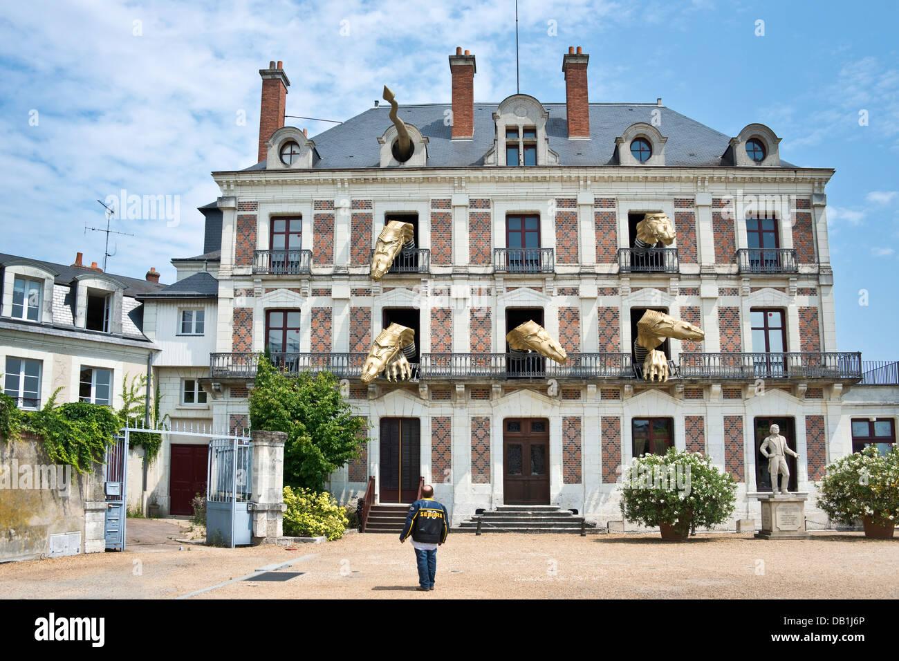 Dragons In The Maison De La Magie Blois Loire Valley France