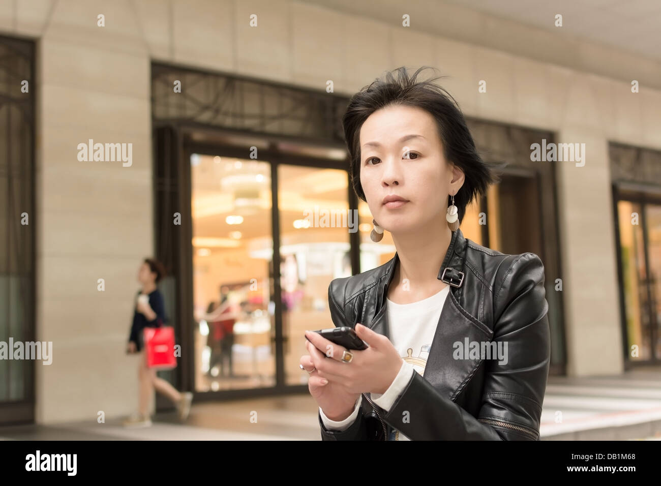 asian mature woman stock photo: 58430128 - alamy