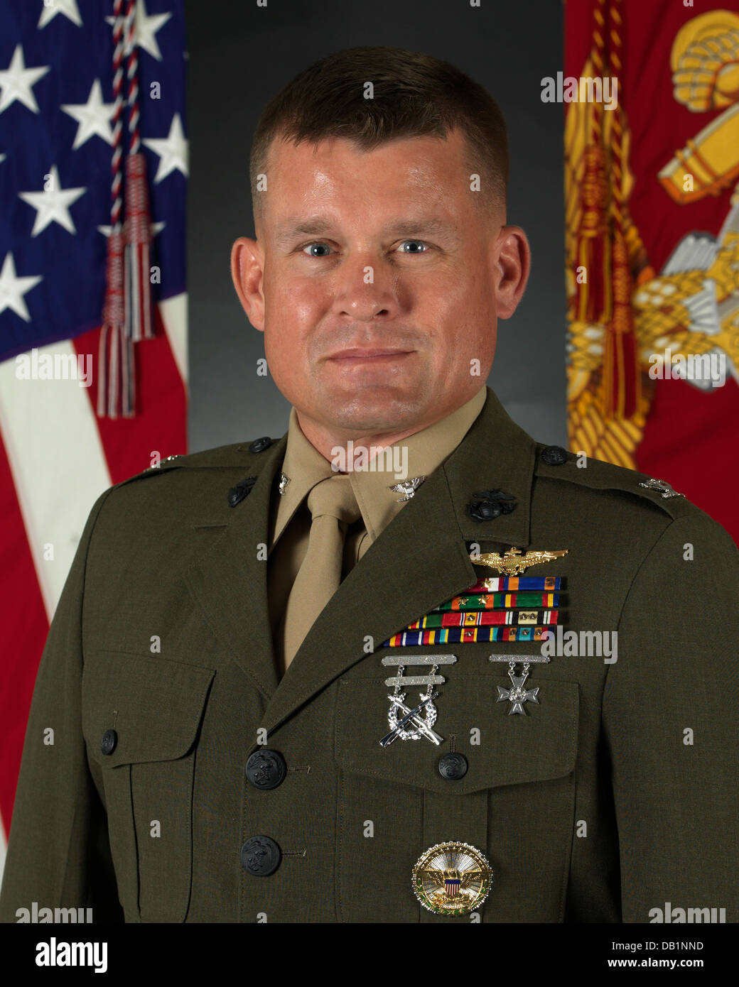 U.S. Marine Corps Col. Terence J. Dunne Official portrait ...