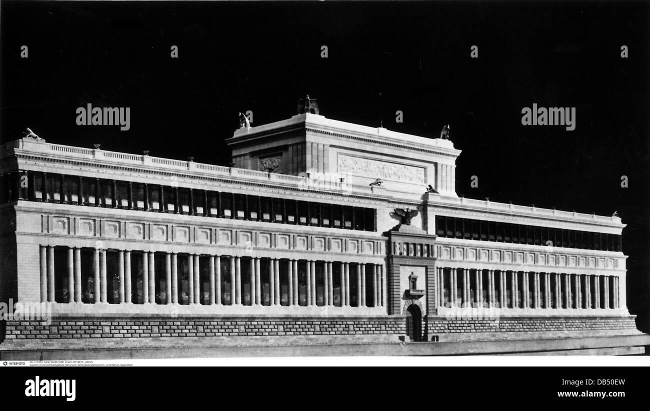 Nazism national socialism architecture capital of the for Architecture nazi
