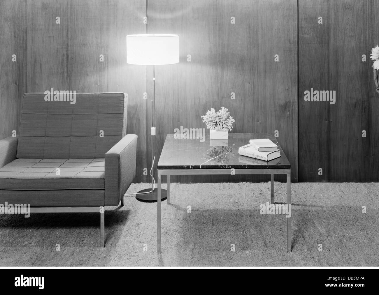 Living Room 1960 furniture, living-room, 1960, 1960s, 60s, 20th century, historic