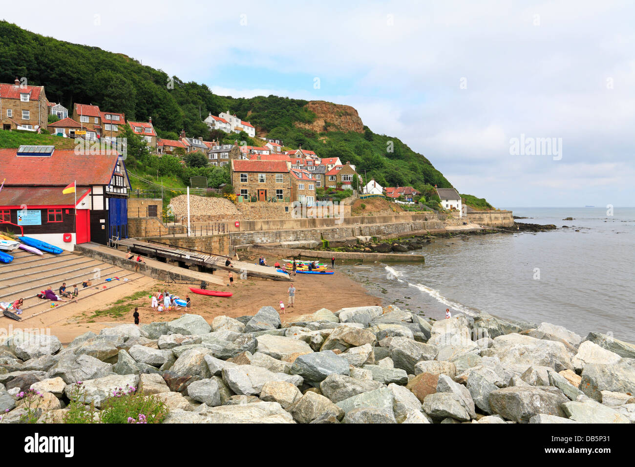 Runswick Bay North Yorkshire North Yorkshire National