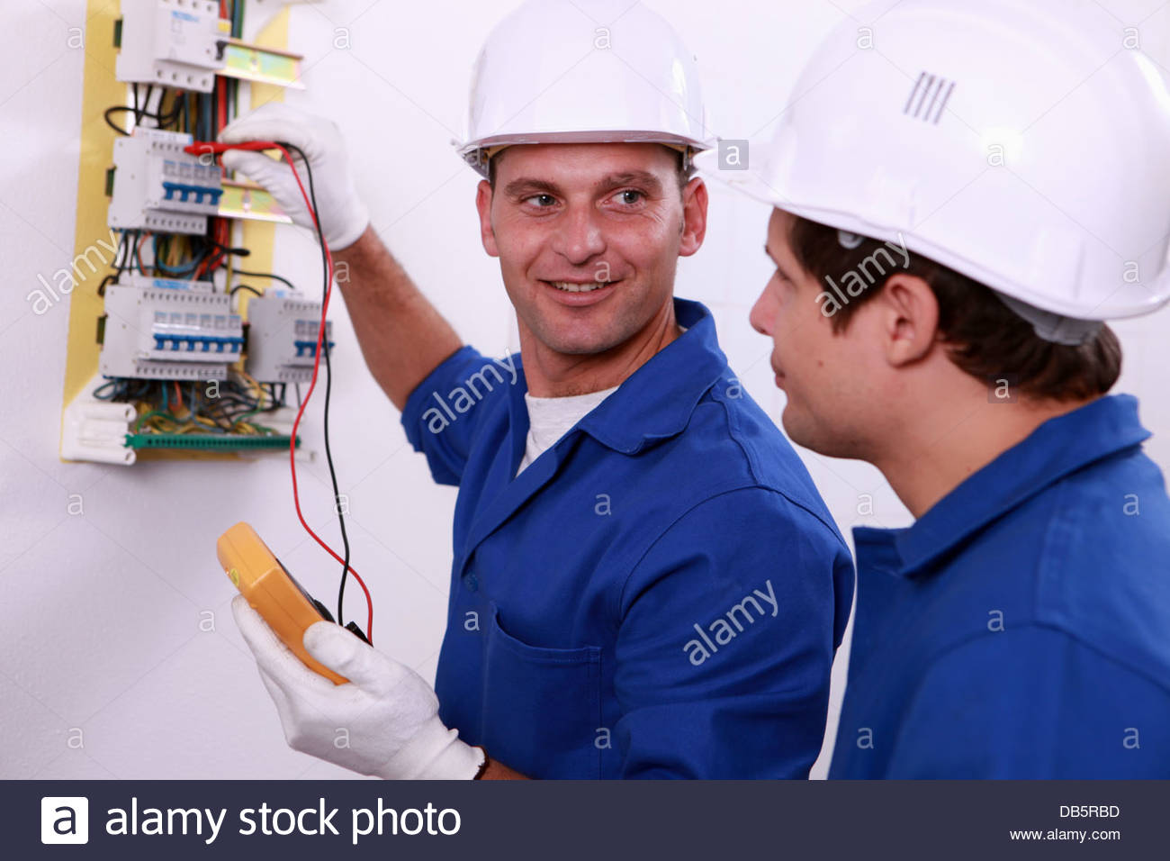 electrical safety inspectors verifying central fuse box stock electrical safety inspectors verifying central fuse box